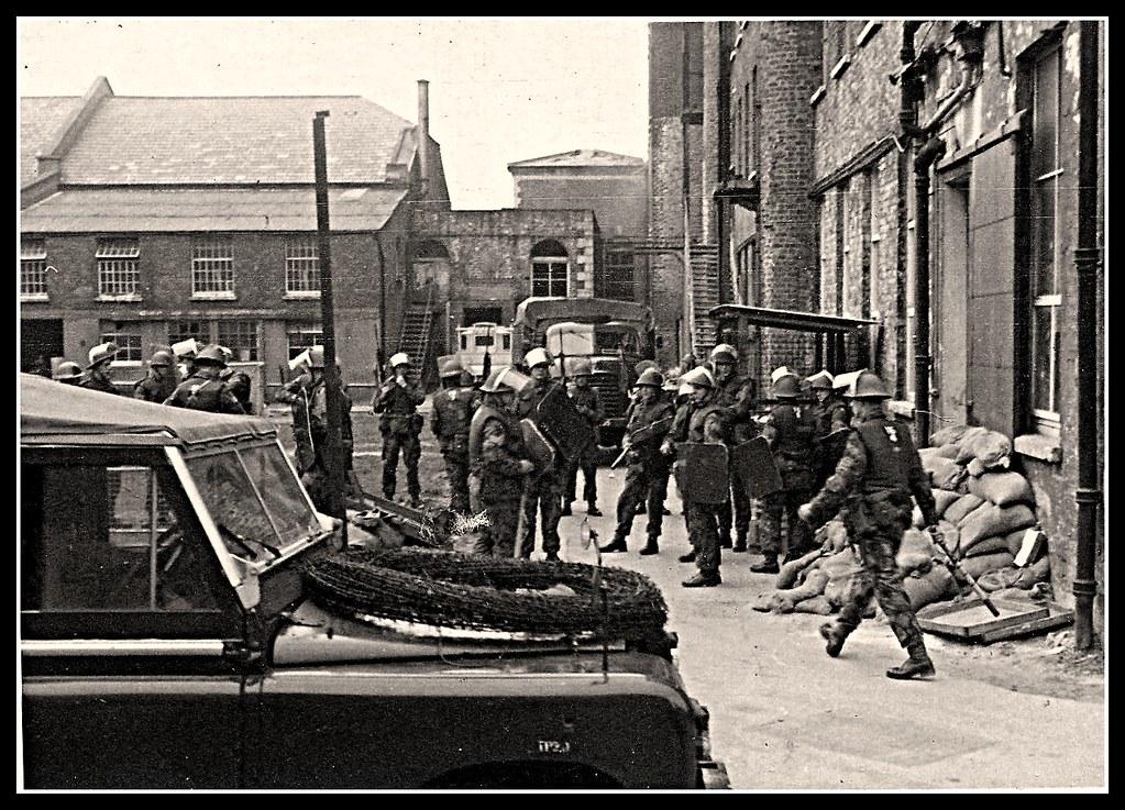 British Army in Northern Ireland 1970