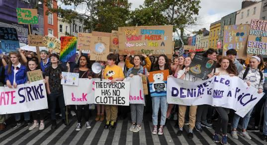 Climate Strike in Cork September 2019