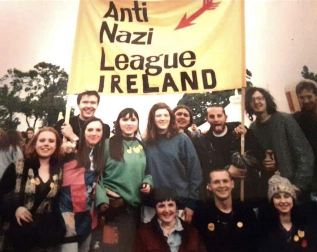 Anti Nazi League Ireland 1991