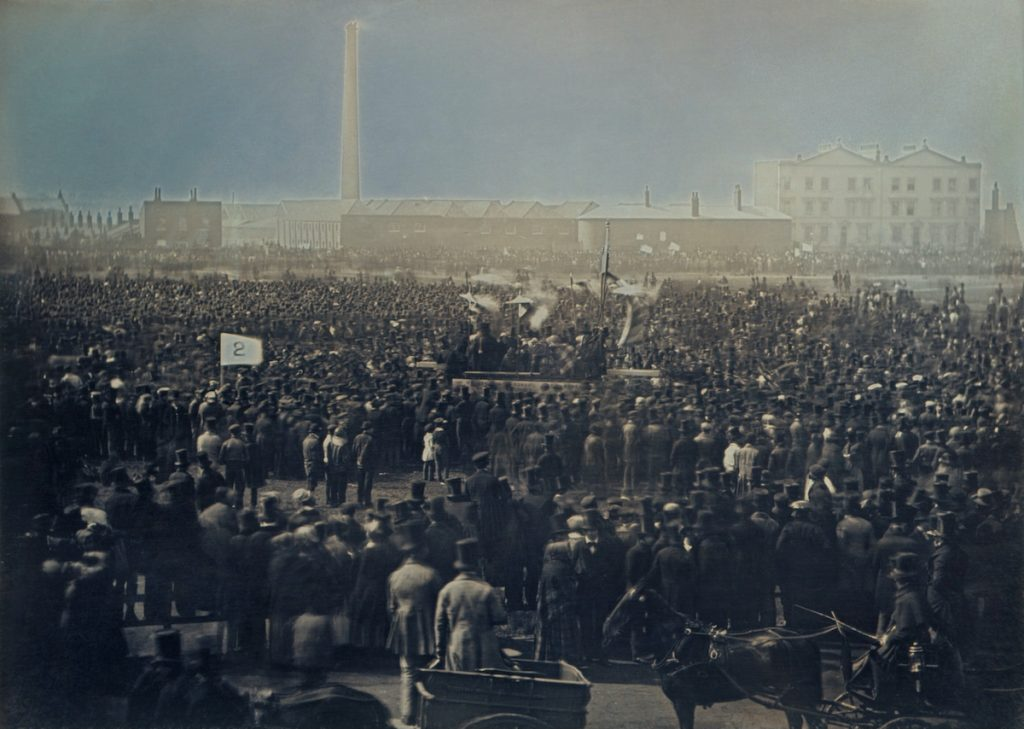 Chartist rally Kennington 1848