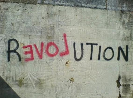 Socialist Graffiti. Socialism in Ireland requires revolution. It is a philosophy of caring for humanity and the planet.