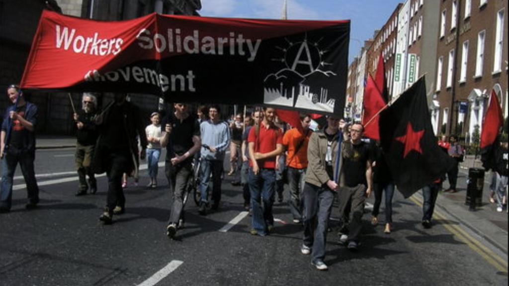 Irish anarchists WSM Mayday
