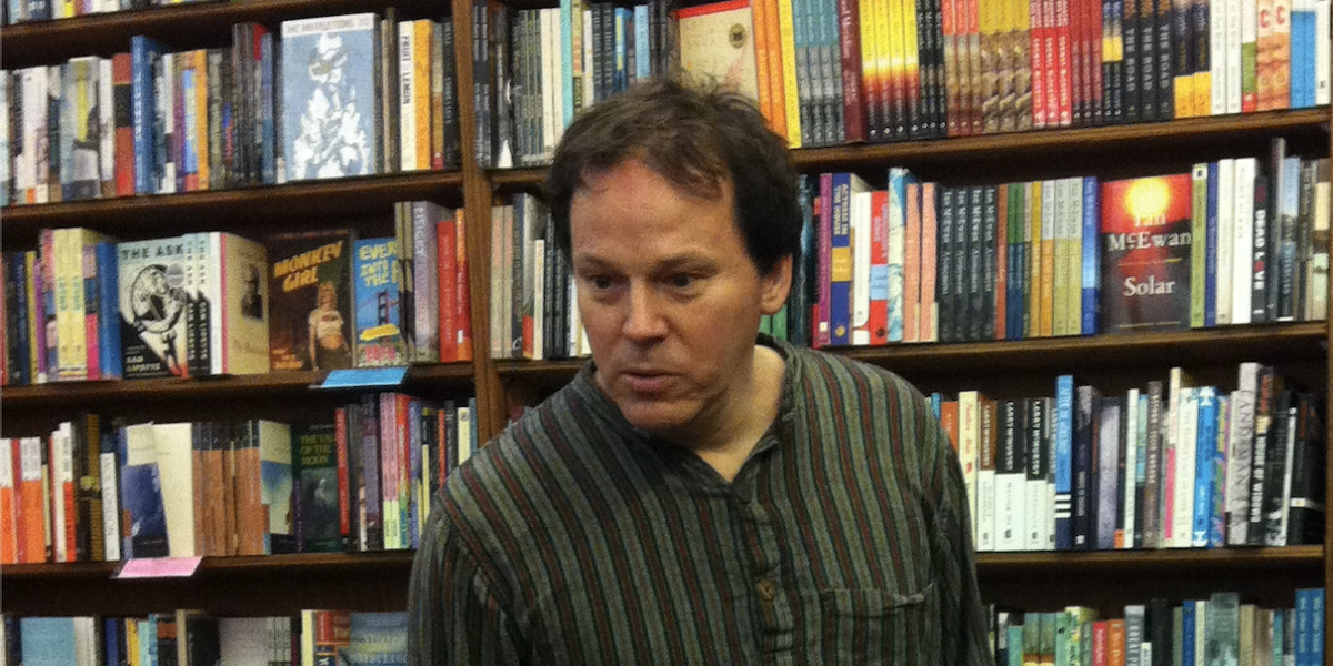 David Graeber City Lights Bookshop 2012