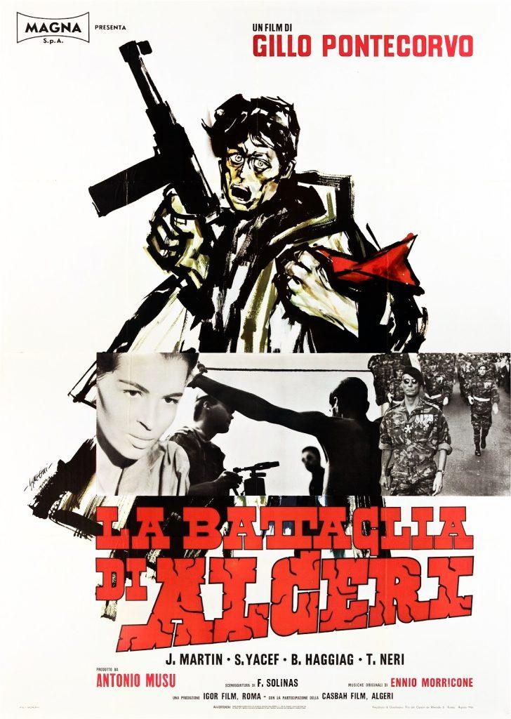 Poster La Battaglia di Algeri The Battle of Algiers