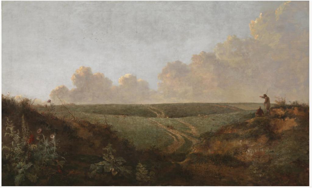 John Crome Mousehold Heath Norwich 1818-20