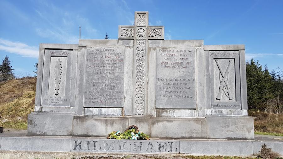 Monument at the Kilmichael Ambush site