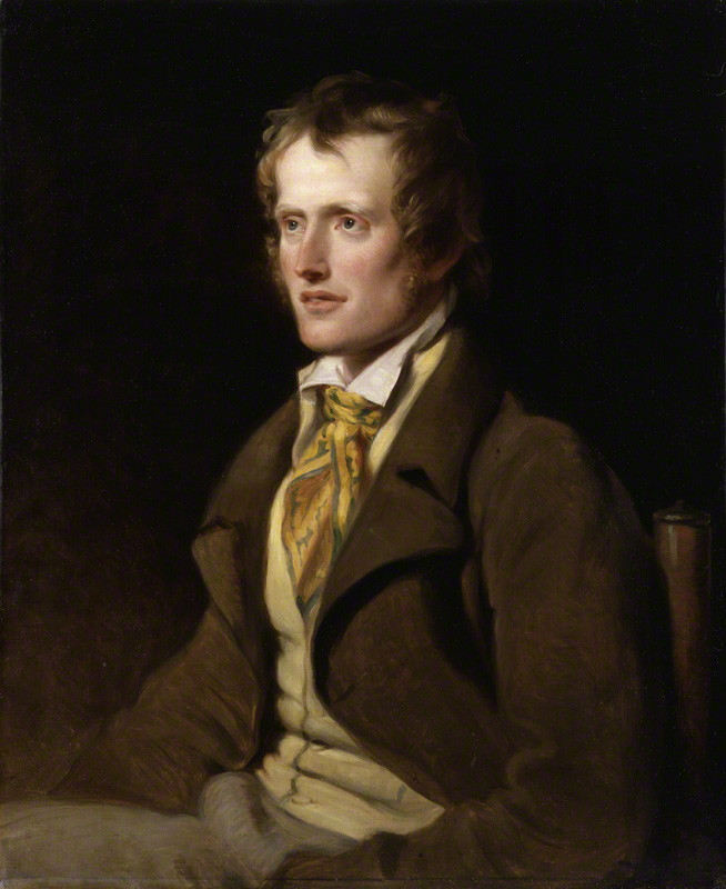 Poet John Clare by William Hilton