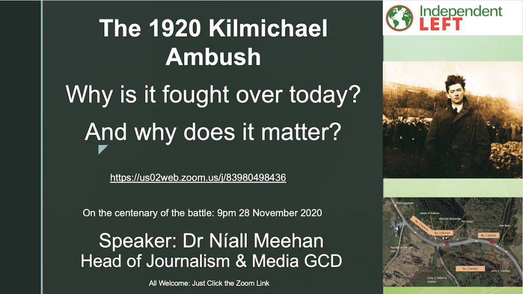 Public Meeting on the Kilmichael Ambush