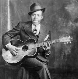 Robert Johnson blues guitarist