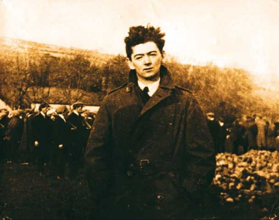 Tom Barry leader of the Flying Column, Cork III Brigade.