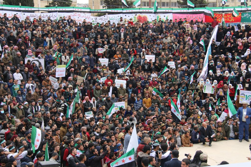 2021 Protests in Idlib Against the Government of Bashar Al-assad
