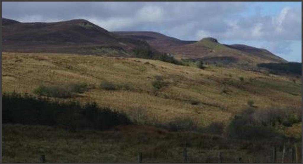 Rossinver Leitrim hills.